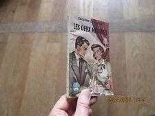 STELLA 565 EDOUARD DE KEYSER les deux masques petit echo de la mode 1950