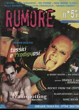 RUMORE 57/1996 SUEDE 99 POSSE JON SPENCER MARC BOLAN KULA SHAKER NENEH CHERRY