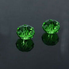 New Faceted 30pcs Rondelle Exquisite Crystal #5040 6x8mm Beads U pick colors
