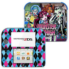 Nintendo 2DS Skin Aufkleber Schutz Folie Sticker - 006 - MONSTER HIGH