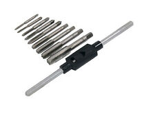 Tap Wrench Set and Die Metric M3 M3.5 M4 M5 M6 M7 M8 M10 M12 Garage Tool
