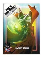 2016 Blood Drive Promo Card P4-A Bat out of Hell Philly Non Sport Show