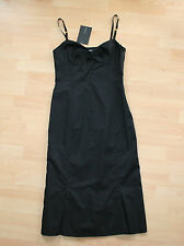 BNWT SportMax By MaxMara Sexy Black Dress LBD Sz IT 42 UK 10