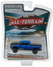 1:64 GreenLight *ALL-TERRAIN R4* Blue 2017 Dodge RAM 2500 Pickup Truck *NIP!*
