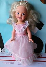 "Getting Fancy Kimberly Doll Tomy Vintage 17"" Please Read"
