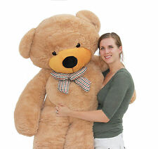 "Joyfay 78"" 200cm Giant Teddy Bear Brown Huge Stuffed Plush Toy Christmas Gift"