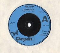 """Generation X - KIng Rocker 7"""" Single 1979"""