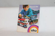 1984 SIKU TOYS GERMANY CATALOG, ORIGINAL, COMPLETE