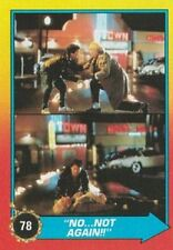 1989 Topps Back To The Future Ii #78 No Not Again! Marty Mcfly Doc Brown