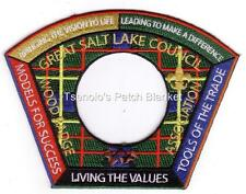 Great Salt Lake Council SA-171c 2007 Woodbadge Association CSP Mint FREE SHIP