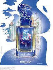 PUBLICITE ADVERTISING 1016  2015   Eau du Soir Sisley  eau de parfum
