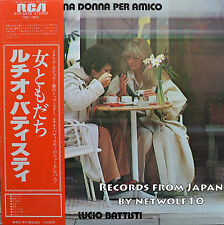 Lucio Battisti - Una Donna per amico - LP - Japan Press with OBI - RVP-6378