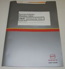 Werkstatthandbuch Seat Alhambra Eigendiagnose Automatisches Getriebe 4 Gang 099
