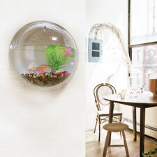 Home Decor Wall Hanging Flowers Plants Mount Bubble Aquarium Bowl Tank Aquarium