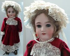 VINTAGE TOYS : REBECCA ANTIQUE BISQUE DOLL - APPROX. 24 INCHES HIGH