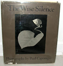 SIGNED Paul Caponigro The Wise Silence Gravure Retrospective 2nd Print HC DJ
