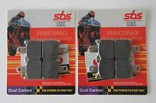 SBS 838 DC Bremsbeläge Racing Dual Carbon Kawasaki ZX-6R vorn racing brake pad