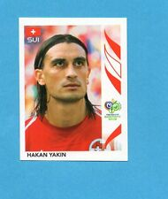 PANINI-GERMANY 2006-Figurina n.487- YAKIN - SVIZZERA -NEW BLACK