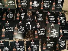 Frank Sinatra / Jack Daniels collector postcard set of 36 cards  double sided