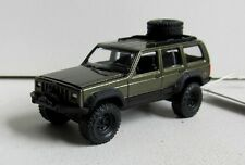 TOMYJOHNNY LIGHTNING OFF ROAD JEEP CHEROKEE Real rubber tires