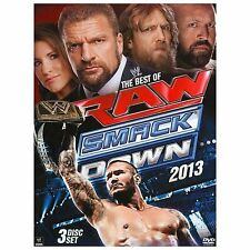 WWE: The Best of Raw and Smackdown 2013 (DVD, 2014, 3-Disc Set)
