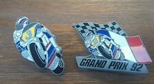 LOT DE 2 PINS MOTO GP ELF HONDA MICHAEL DOOHAN