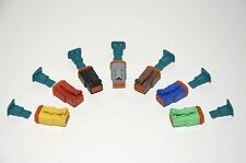 Deutsch DT Interchangeable AMPhenol AT 7 Color 2-Pin Female Connector Kit