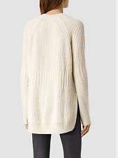Bnwot All Saints RIVA Wool alpaca Jumper Large will fit uk 12 & 14 cream so soft
