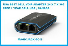 MAGICJACK GO VOIP USB ADAPTER PHONE & DEVICE 12 MONTHS FREE SUBSCRIPTION