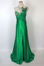 New Genuine Tony Bowls 2351236 Green Wedding Bridal Prom Evening Women Gown 2