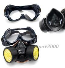 1pc Atemschutz Halbmaske Gasmaske Staubmaske Atemschutzmaske Respirator Schutzen