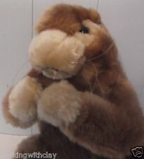 "CUTE 12"" GOFFER    BROWN FURRY WHISKER  GOLF CLUB HEAD COVER"