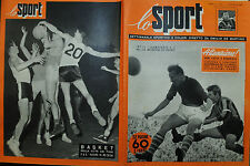 LO SPORT N° 01/3.GEN.1952 INTER - SAMP 3-1 - NYERS IL FROMBOLIERE DELL'INTER