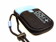 NEW Vanguard Beneto 6c Camera Pouch with Strap (Black/Blue) - Free UK Postage