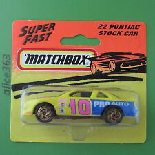 Matchbox 1994 -  Pontiac Stock Car  -  22  -    neu in OVP