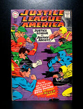 COMICS: DC: Justice League of America #56 (1967), JLA vs JSA - RARE