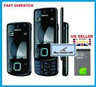 New Condition Smart Black Nokia 6600 Slide 3G Unlocked Mobile Phone