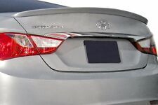 PAINTED FACTORY STYLE LIP SPOILER fits the 2011 - 2014 HYUNDAI SONATA