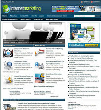 INTERNET MARKETING BLOG WITH AFFILIATE STREAMS - FREE DOMAIN + HOSTING