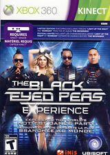 Black Eyed Peas Experience (Microsoft Xbox 360, 2011, Limited Edition) NEW