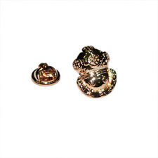 Golden Divers Helmet LAPEL PIN BADGE Deep Sea Explorer Club Present Gift Box