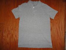 Kids Foot Locker Gray Pullover Shirt w/upper chest buttons.  Sz 6/7
