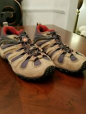 Women's Merrell Continuum Chameleon II Stretch Vibram Hiking Shoes 6.5