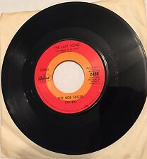 """45 RPM 7"""" RECORD THE BOB SEGER SYSTEM THE LAST SONG. / IVORY VG+"""