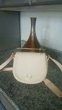 NEW W/ TAG  BEBE LILLY  SADDLE   WOMENS  BAG ,OATMEAL