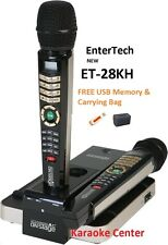 2016 ET28KH ENGLISH Magic Sing OnStage karaoke 2300+ song HDMI 2 wireless Mic