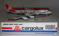 JC WINGS XX4709 Boeing 747-8R7F Cargolux LX-VCM in 1 400 in crushed box