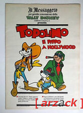 TOPOLINO supplemento a IL MESSAGGERO Topolino e l'illusionista 16/12/89