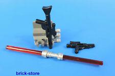 LEGO STAR WARS FIGUR 9509 / BLASTER / DOPPIO SPADA LASER / CON SUPPORTO