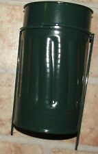 Metal Urn Can Supply Grave Supplies Cemetery Flowers Ground Floral Containers